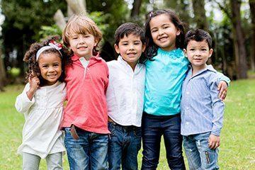 Childcare for yoga retreat participants' families.