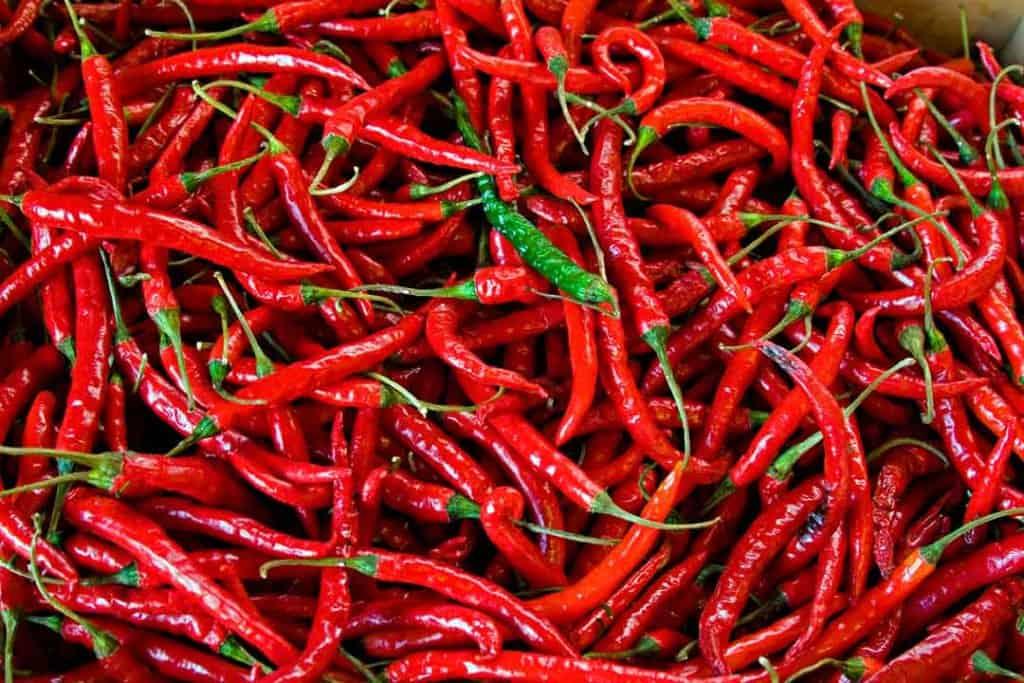 pungent flavor in Ayurveda six tastes