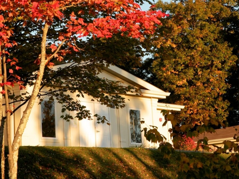 Retreat Center in Fall