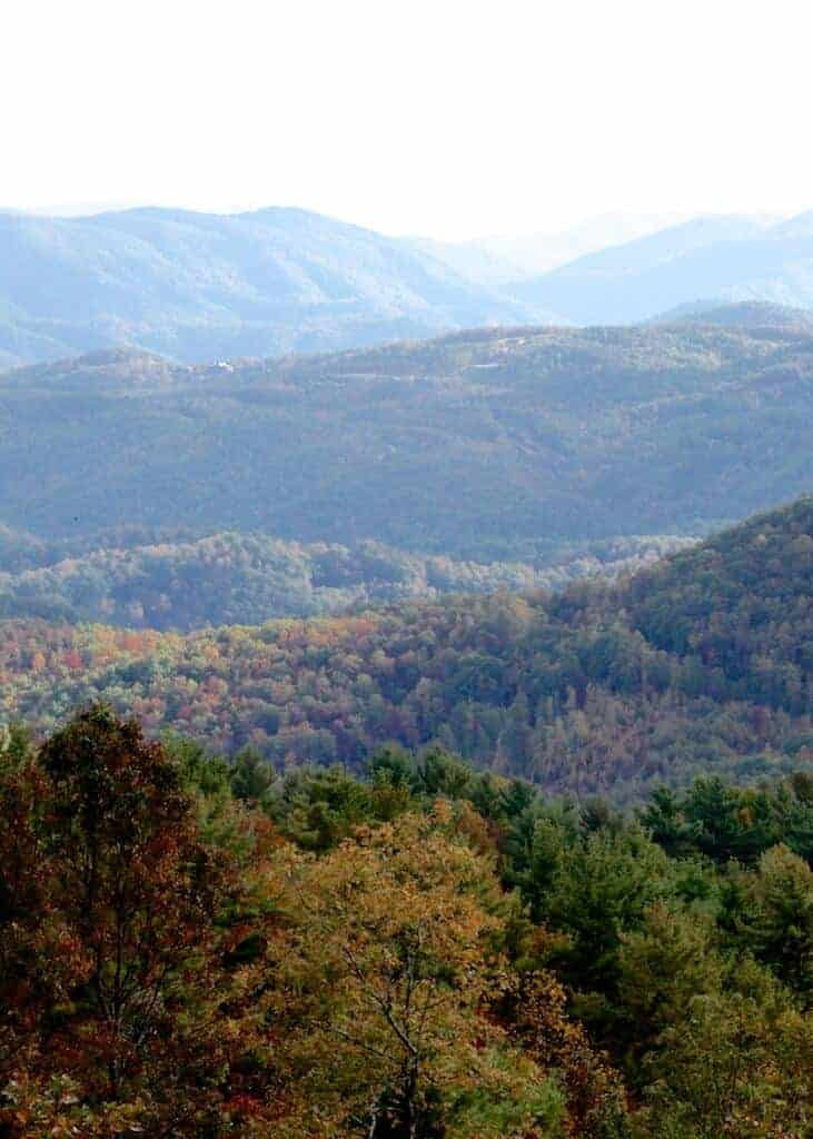 Fall Colors in North Carolina