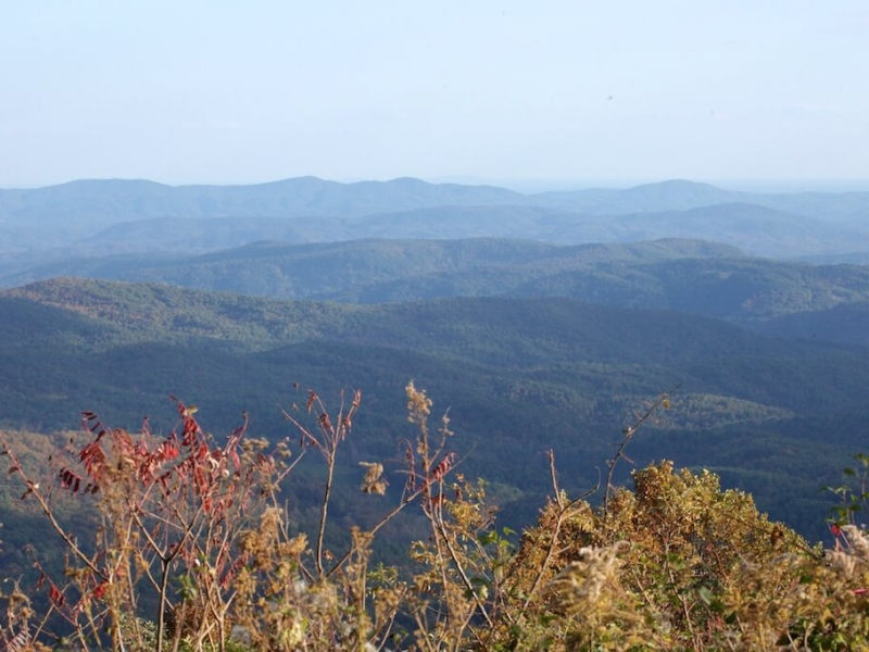 Mountain Views off the blue Ridge Parkway