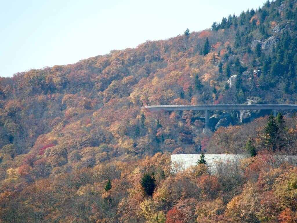 North Carolina Fall Colors near the Viaduct