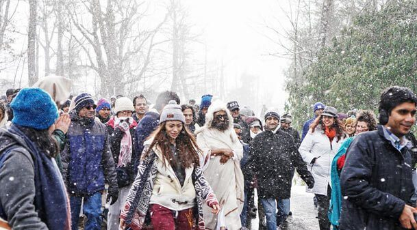 White Christmas Sri Sri
