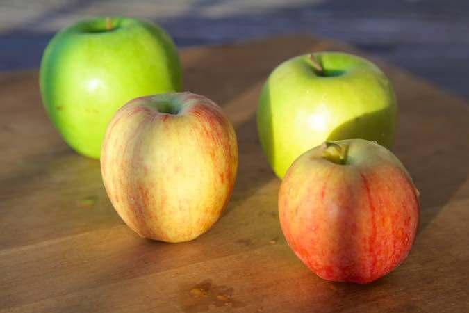 baked apples with Ayurveda