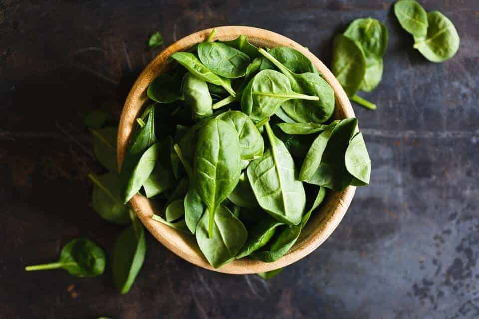 Ayurvedic Recipes - Spinach