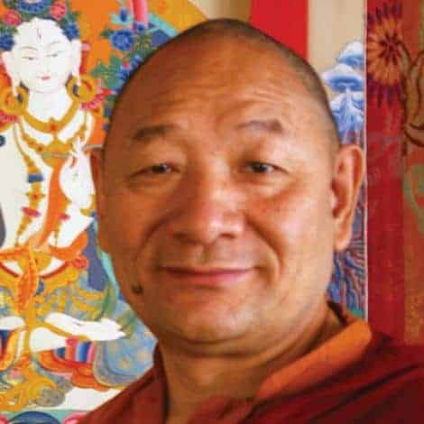 Buddhist Rinpoche Lama Migmar