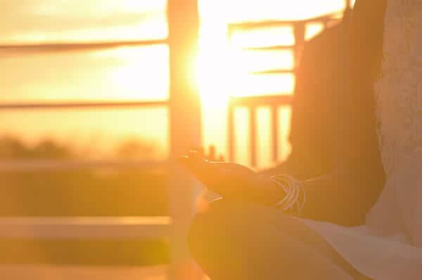 meditation retreat sunrise
