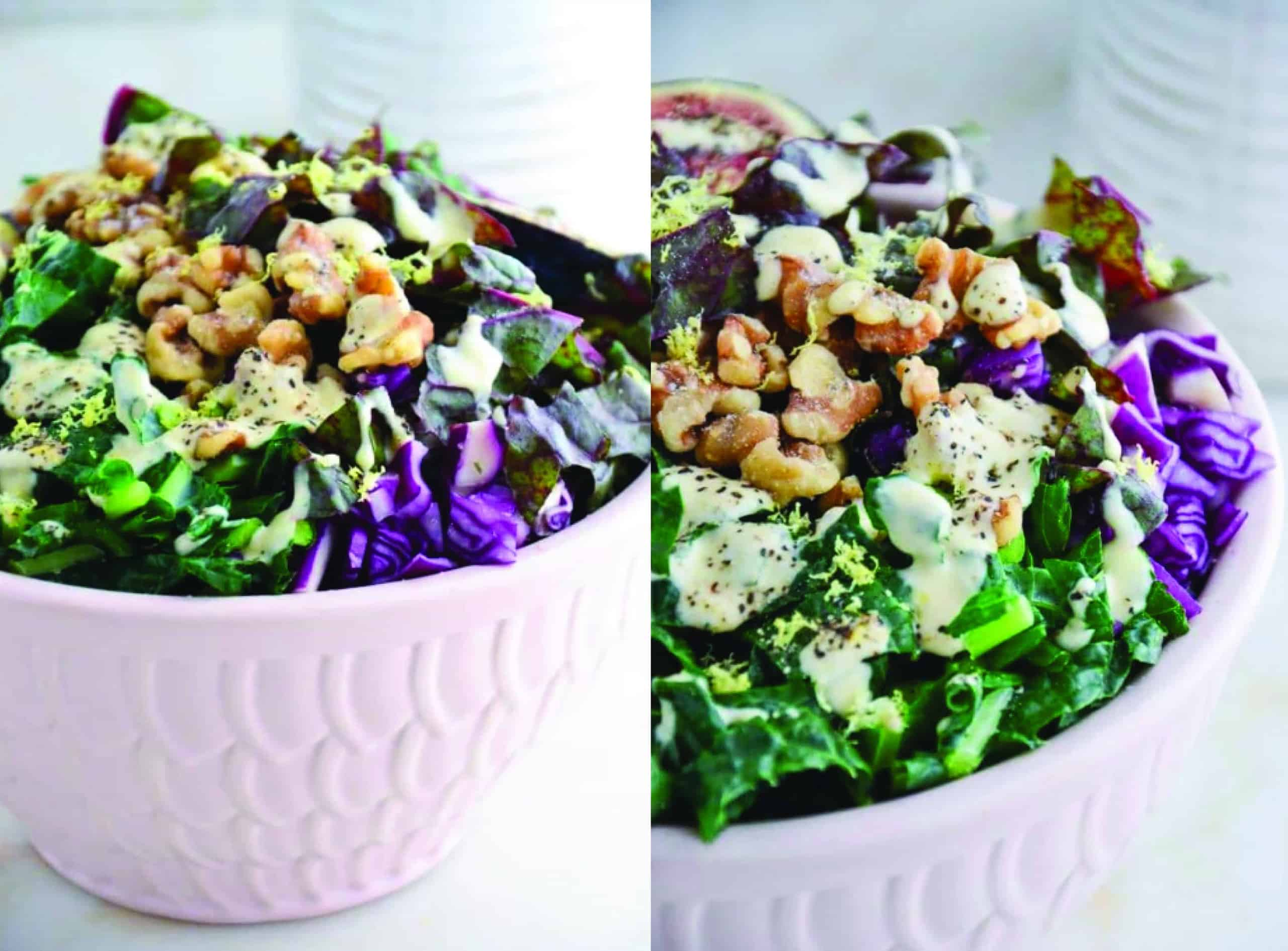 The Best 10 Minute Kale Salad