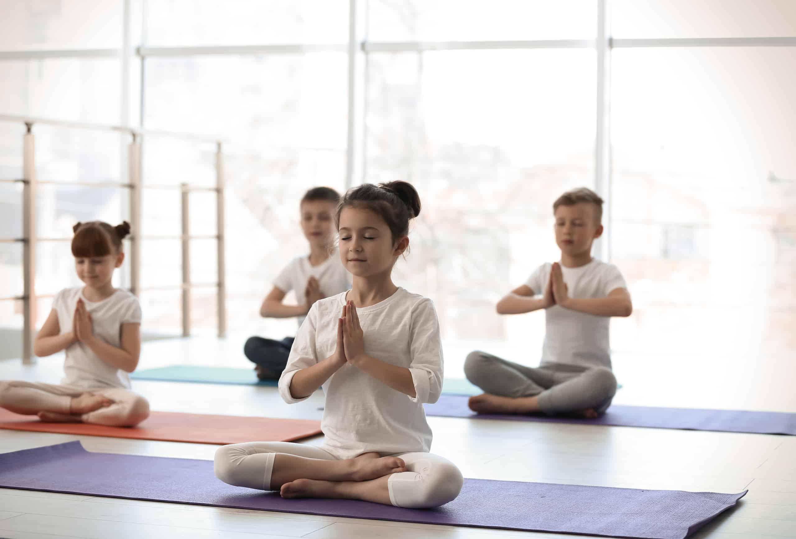 Child's Yoga - Art of Living Retreat Center