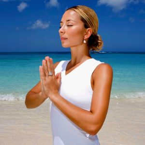 Grace in prayer pose bio image