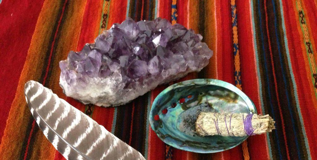 Shaman healing tools