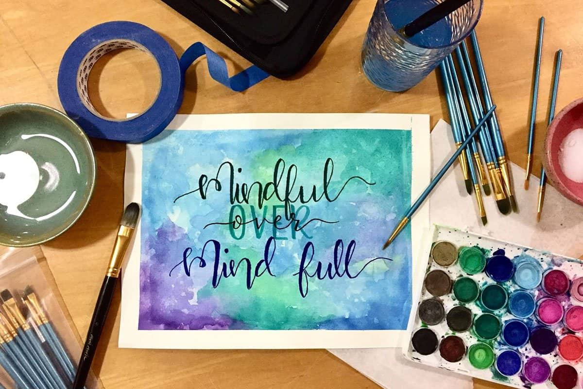 mindful painting RR