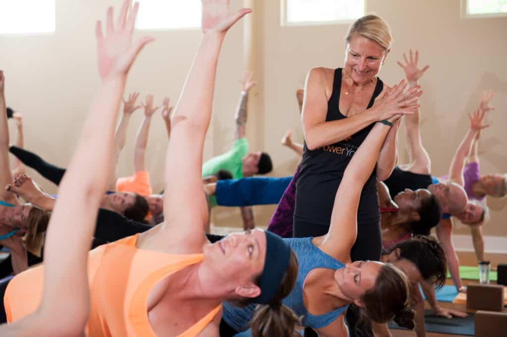 Kate Doran Savannah Power Yoga!
