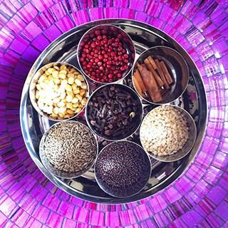 Ayurveda Spice Wheel
