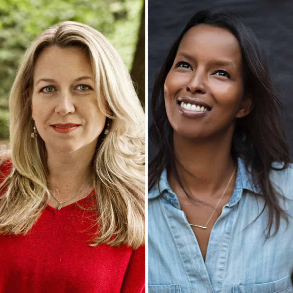 Cheryl Strayed and Roda Ahmed
