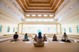 Meditate at our Small Meditation Hall