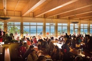 Socialize and exchange knowledge at our Main dining hall